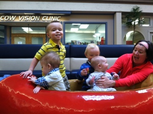 Playgroup at one of our indoor locations